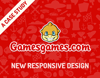 GamesGames.com    |    responsive web design