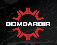 Bombardir logo concpet