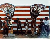 It's a 70s rock n roller coaster