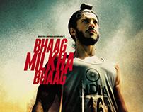 Bhaag Milkha Bhaag - Film Publicity Design
