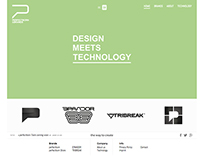 PERFECTBORN & BRANDS Responsive Website