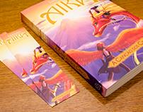 Aika Saga - Projeto gráfico e ilustração de livro