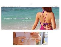 Teycindy.com - Web Layout Design | Jun 2016 - Mar 2017