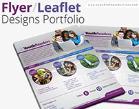 Flyer / Leaflet Portfolio | Swan Media Productions
