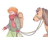 Samwise Gamgee and Bill the Pony