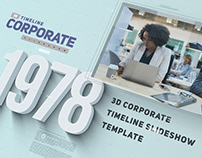 3D Corporate Timeline Slideshow