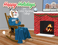 C-SC Holiday Postcard