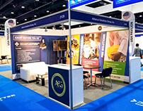 ISNR ABU DHABI 2018 Exhibition Booth Design