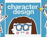 Character design - Demo reel