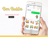 Beer Buddies Stickers