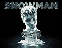 Single Cover Design, GGA - SNOWMAN