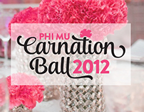 Carnation Ball 2012 Event Branding