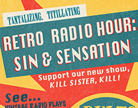 Retro Radio Hour - Sin & Sensation