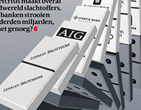 DAG Newspaper Cover illustration (2007)