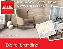 CTM digital branding campaign