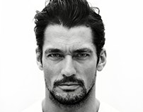 100 Portraits David Gandy by Giles Duley