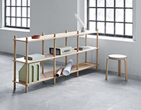 Jam Bookcase for Normann Copenhagen