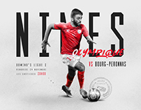 Designs for Nimes Olympique