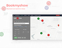 Bookmyshow.com: Exploring map-based user experience