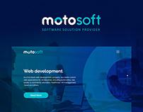 Motosoft website redesign