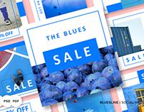 Bluesline Pack Social Media #84071