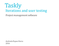 Taskly User Testing