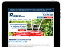 Lancaster Insurance Responsive Redesign