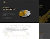 Bitcoin website design
