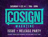 Freelance for COSIGN Magazine