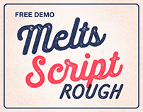 Melts Script Rough (Typefamily) 20% off