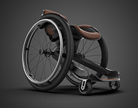 MIRAGE - Carbon Fiber WheelChair