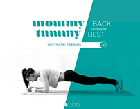 Mommy Tummy - Brand Identity & Web Design