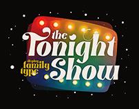 Tonight Show - Retro Font Family