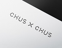 CHUS X CHUS, Identity System and Web Design