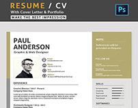 Creative Resume/CV