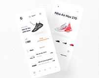 Shoes App Concept
