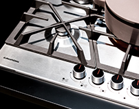 Pro Design Gas Hobs and Knob | Grundig