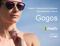 Gogos – Responsive Sunglass Store Shopify Theme