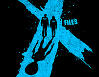 "The ""X Files"" t shirt design challenge"