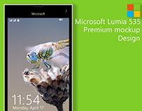 Microsoft Lumia Mockup
