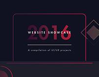 Website Showcase 2016
