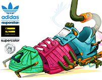 ADIDAS - SUPERCOLOR