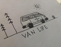 Van life doodle
