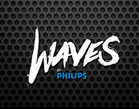 Waves by Phillips - Logo & Project