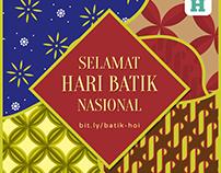 Infografis Hari Batik