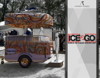 ICE2GO Mobile Ice-Cream Serving Unit