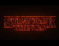 Intro Stranger Things (FanArt)