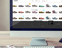 Koncept - Shoes ecommerse Theme PSD