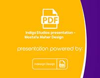 Indigo Studios presentation - Mostafa Maher Design