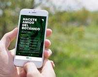 Flyer Promocional / Jardín Botánico de Bs. As.